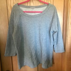 Gap grey sparkle sweatshirt size XL